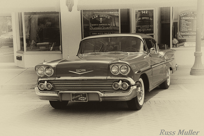 Photograph '58 Impala by Russ Muller on 500px