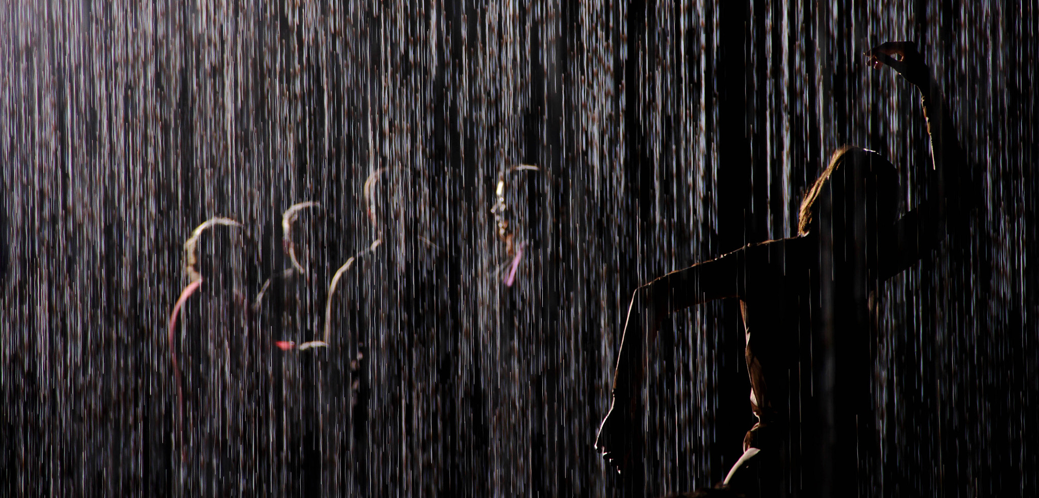 Photograph Dancing in the Rain Room by Elsa Correia on 500px