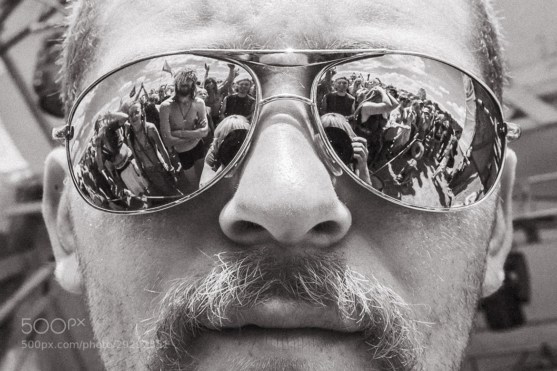 Photograph Festival security guy by Lidia Sharapova on 500px