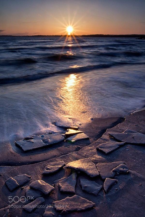 Photograph frosty sea by Sandra Löber on 500px