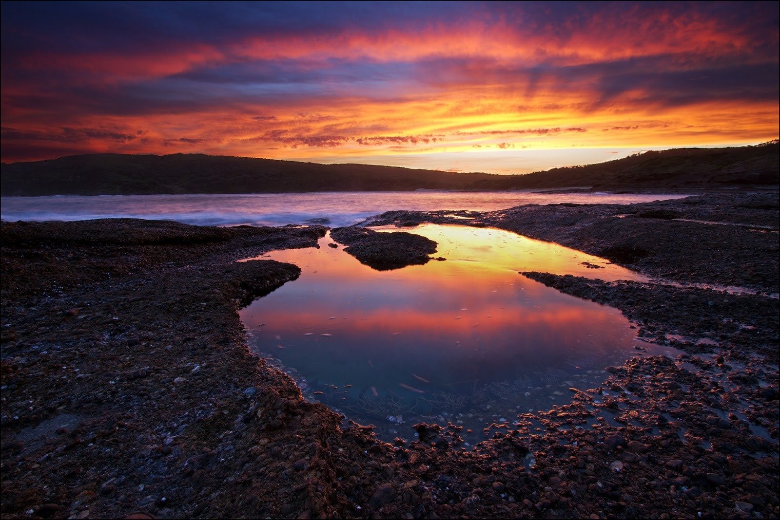 Photograph Sunset Reflections by Steve Passlow on 500px