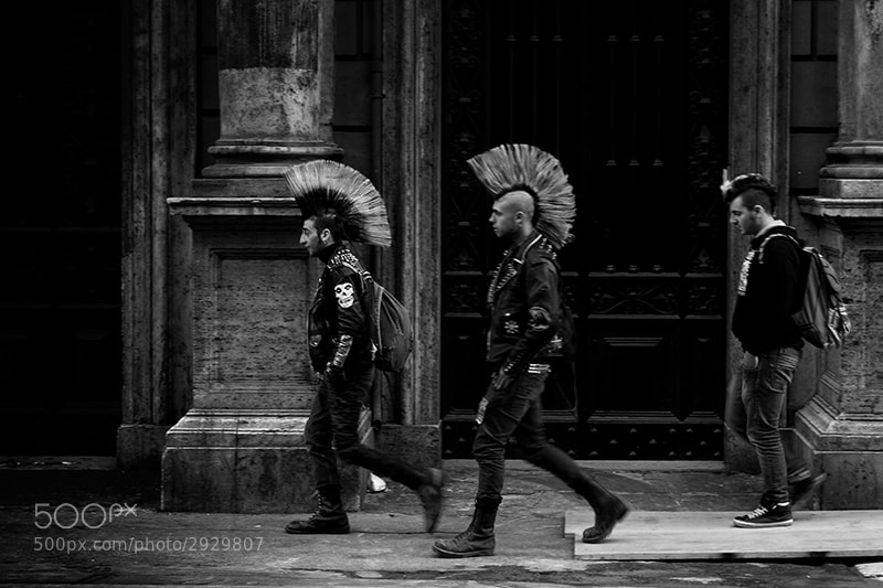 Photograph punk never dies by massimo raldeni on 500px