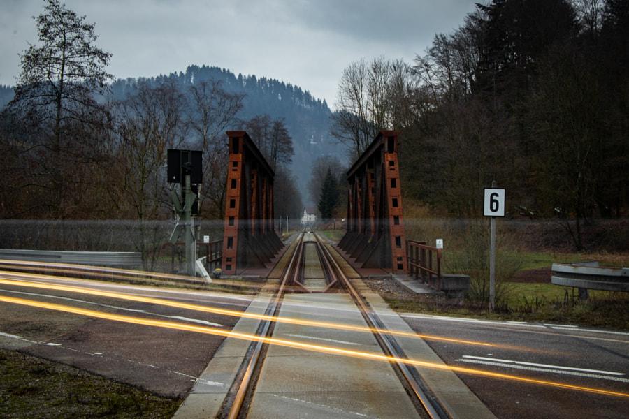 Traffic at the Bridge by Chris Devillio on 500px.com