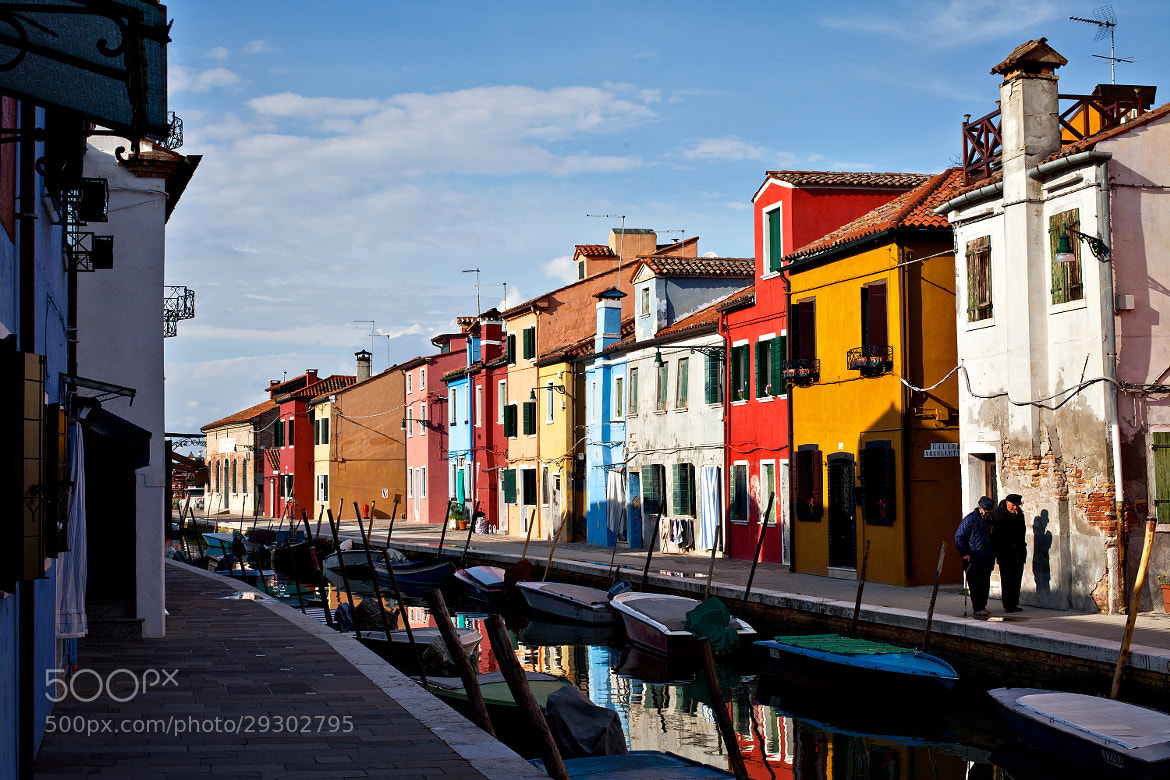 Photograph Burano by Andrey Sherstiuk on 500px