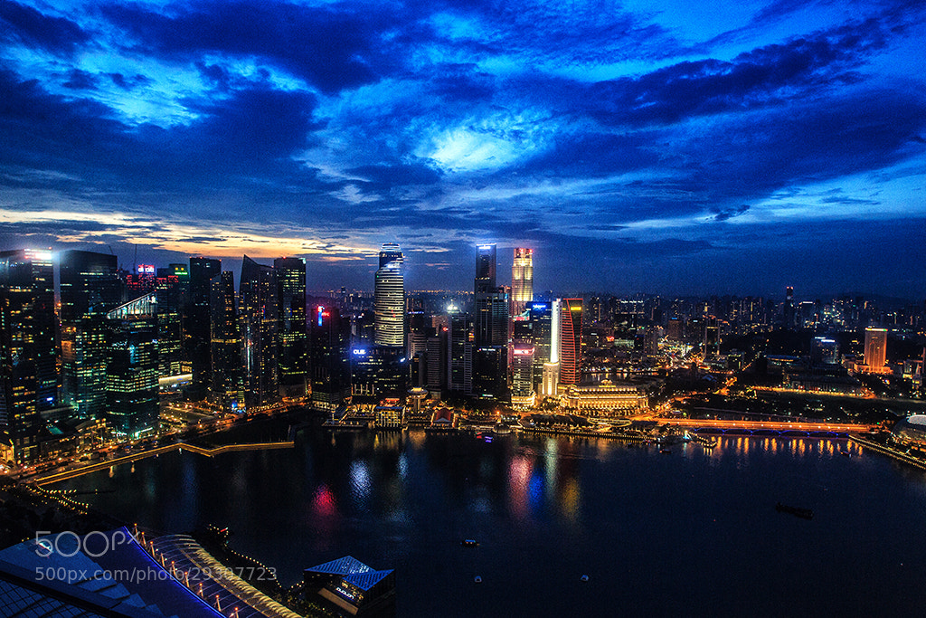 Photograph Night Singapore by Igor Romanchuk on 500px