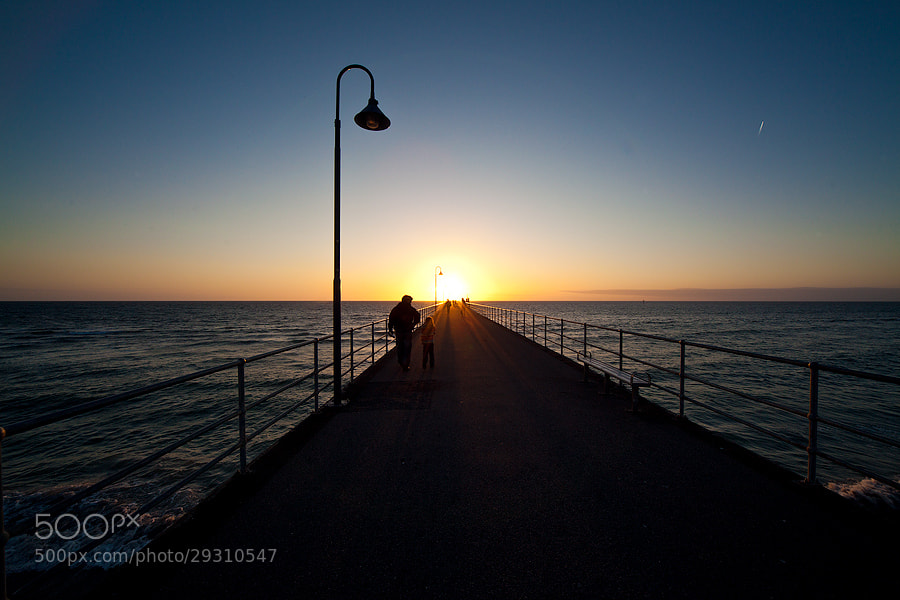 Photograph Pier for the sun... by Paolo Guidetti on 500px