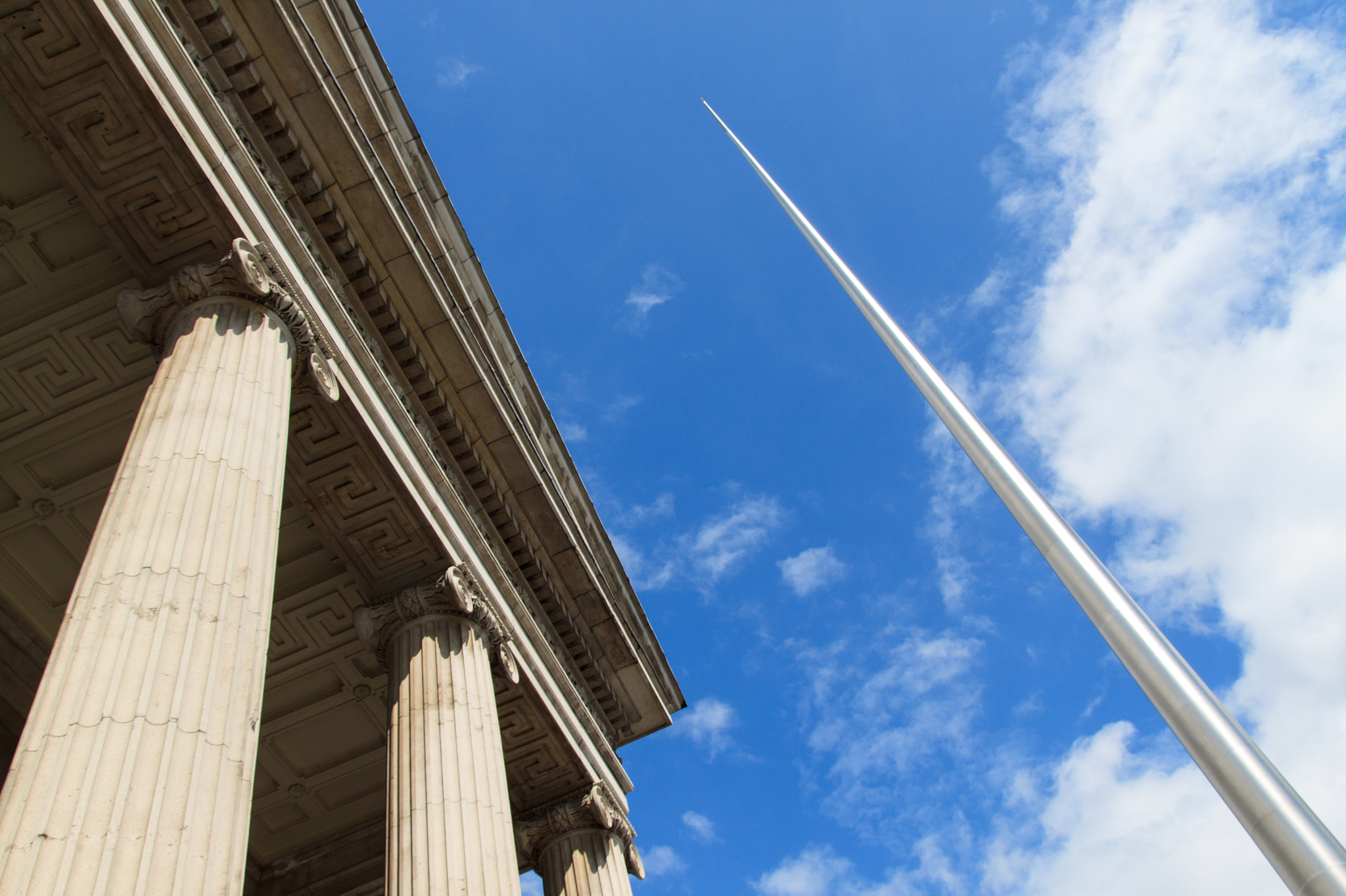 Photograph Spire of Dublin & Post Office by William Kong on 500px