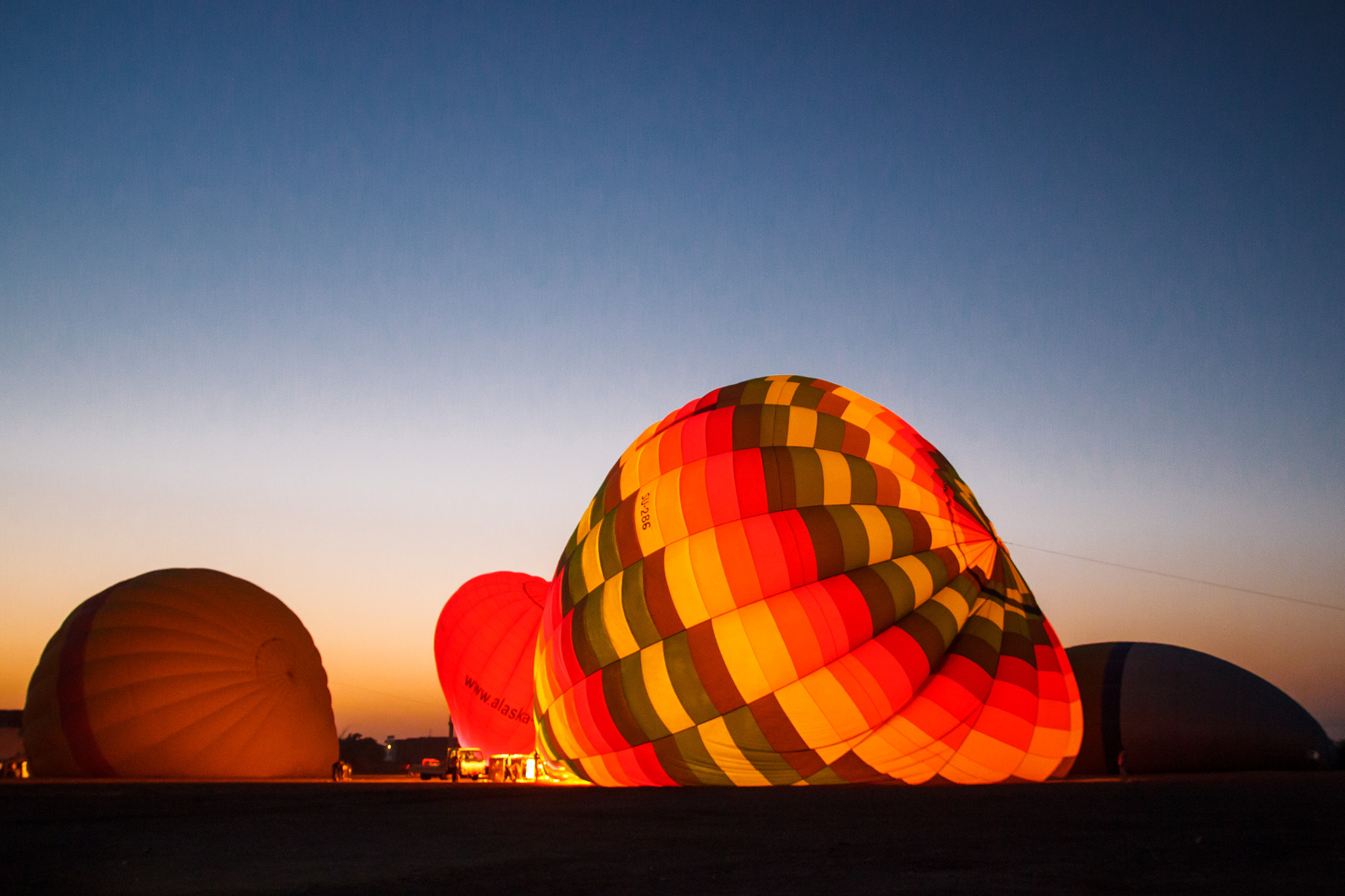 Photograph Hot Air Balloon by William Kong on 500px