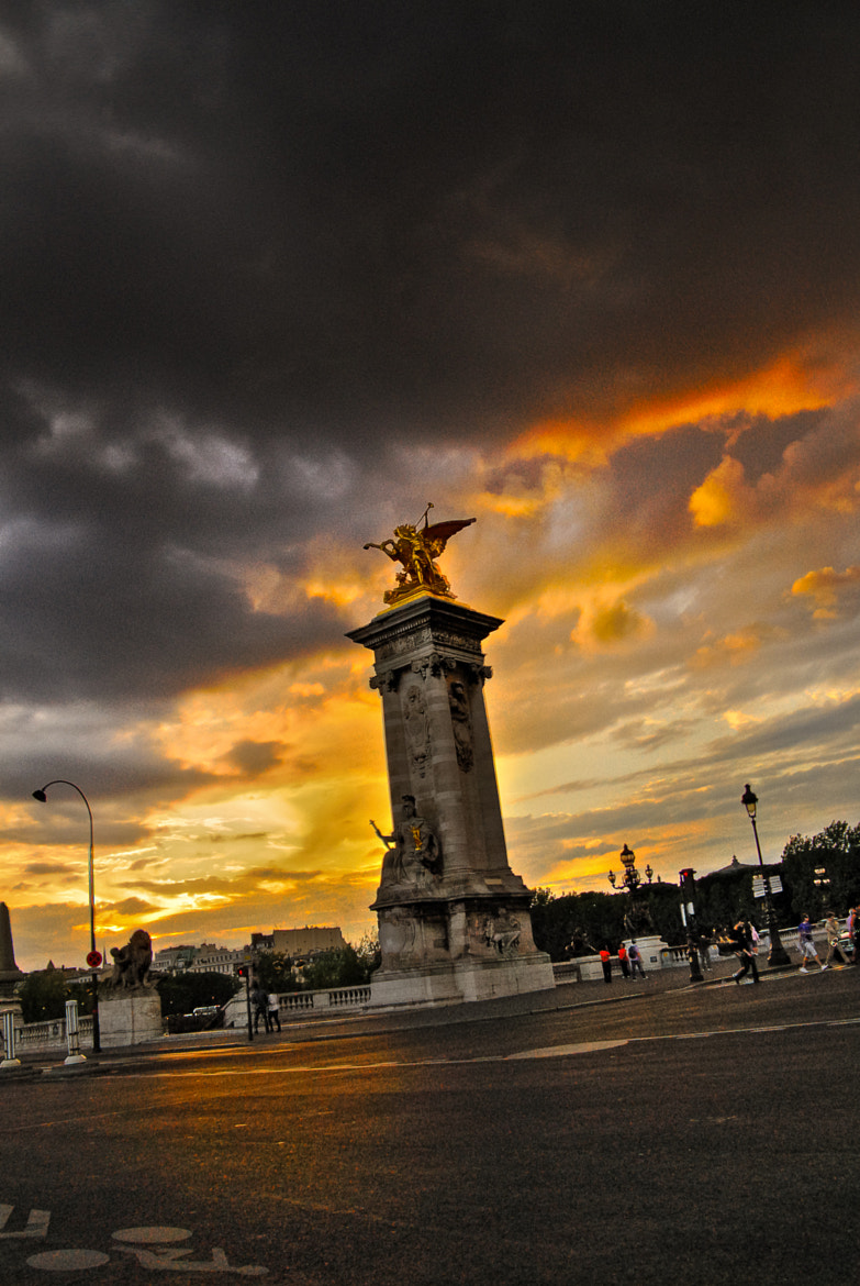 Photograph Pont Alexandre III by Simone Heuer & Johannes Becker on 500px
