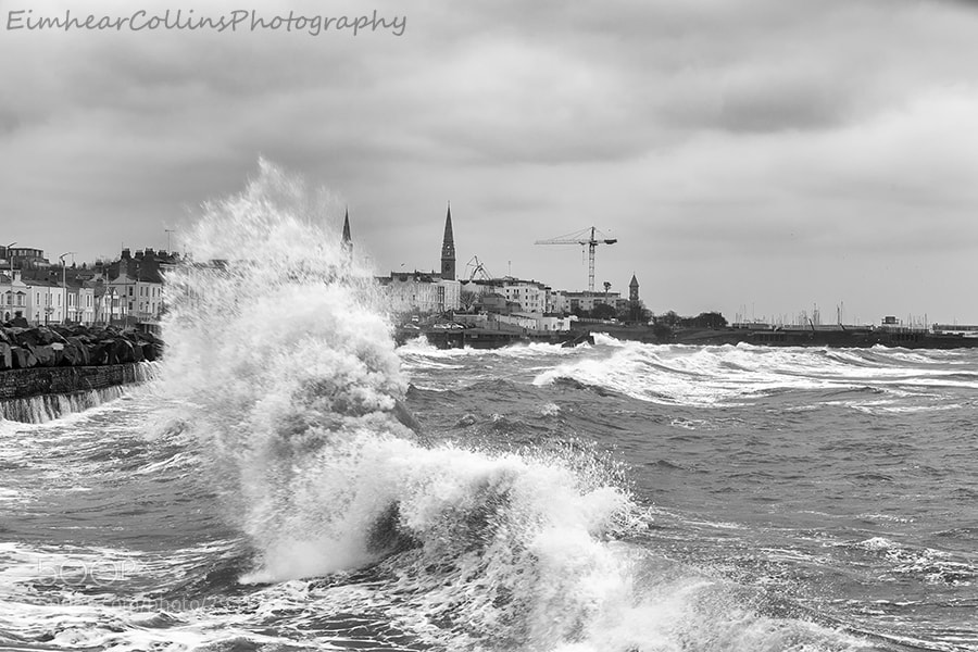 Stormy Weather at Dunlaoghaire