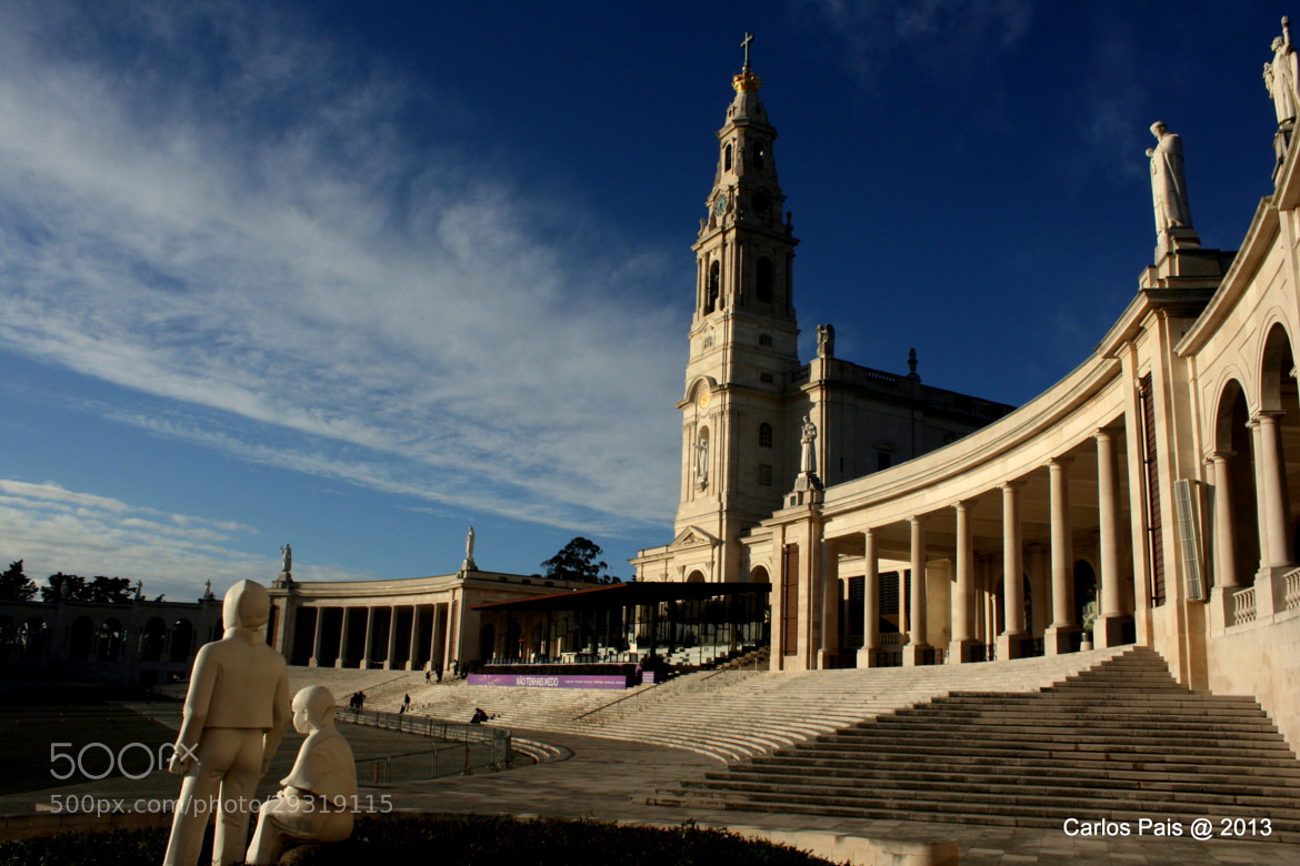 Photograph Santuário de Fátima - Fátima's Sanctuary by Carlos Pais on 500px