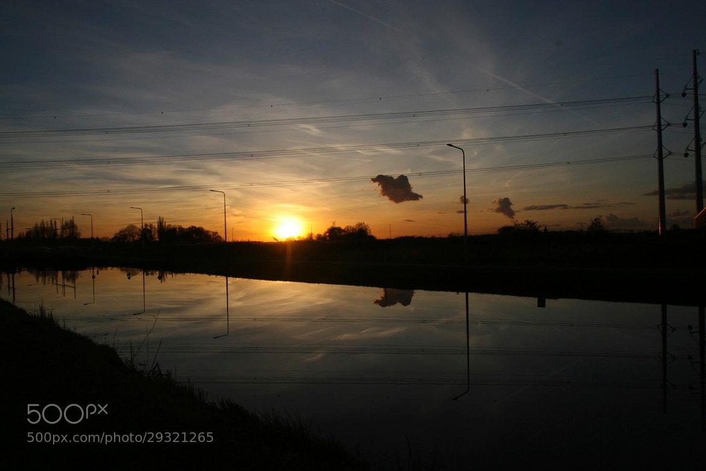 Photograph Dutch sunset by Mark van der Sluis on 500px