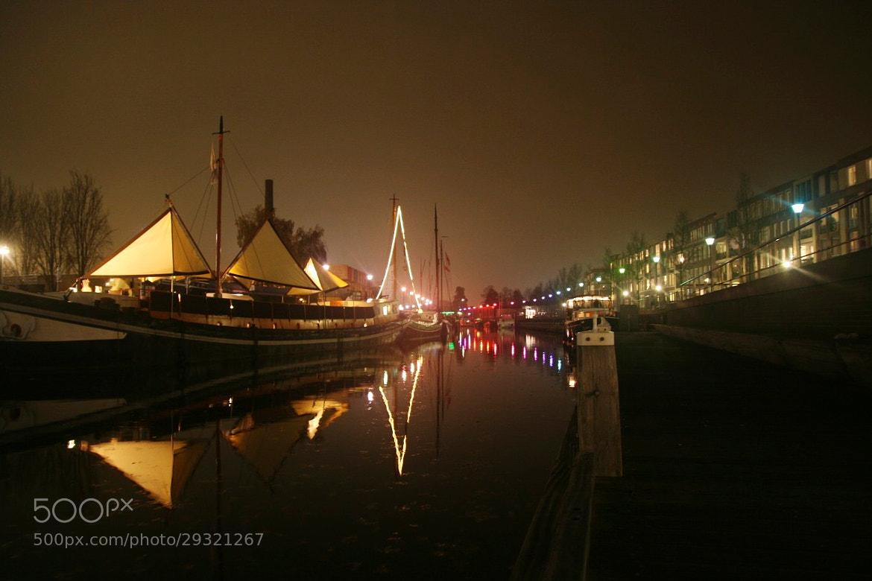 Photograph night port by Mark van der Sluis on 500px