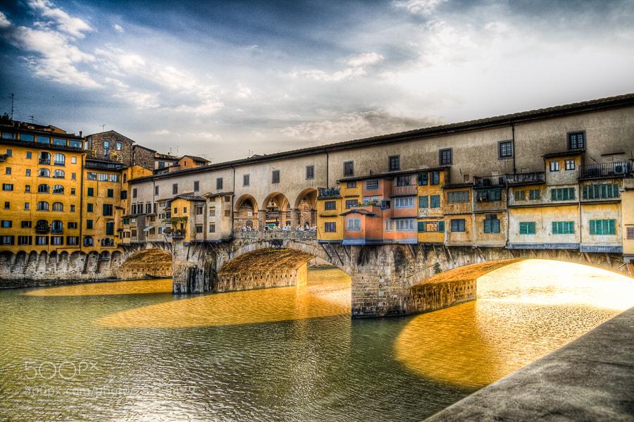 Photograph Ponte Vecchio by Jose Agudo on 500px