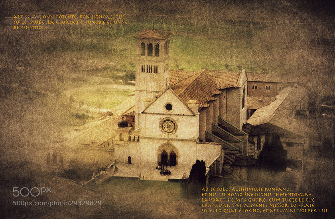 Photograph Assisi, Church of S. Francesco by Vittorio Chiampan on 500px
