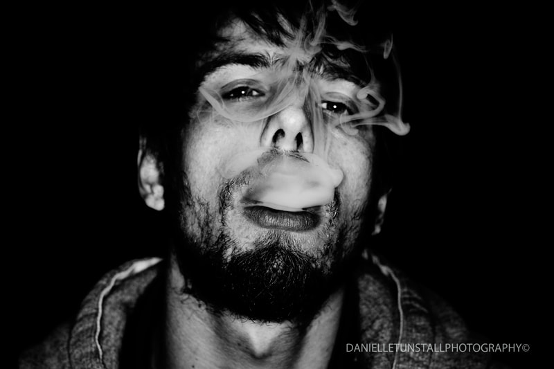 Photograph Smoking  by Danielle Tunstall on 500px