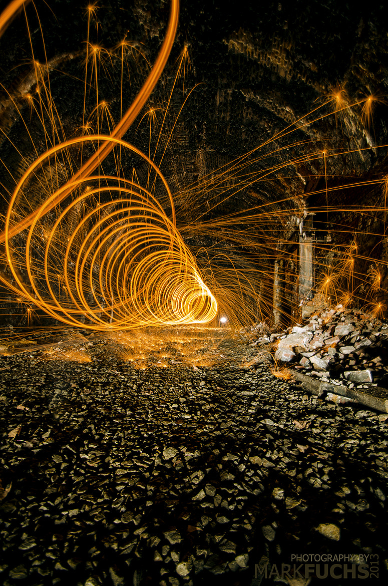 Photograph Fire Spiral by Mark Fuchs on 500px
