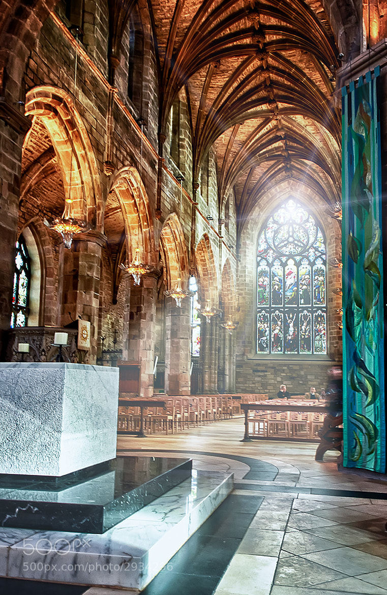 Photograph Inside St. Giles by Ian McConnell on 500px