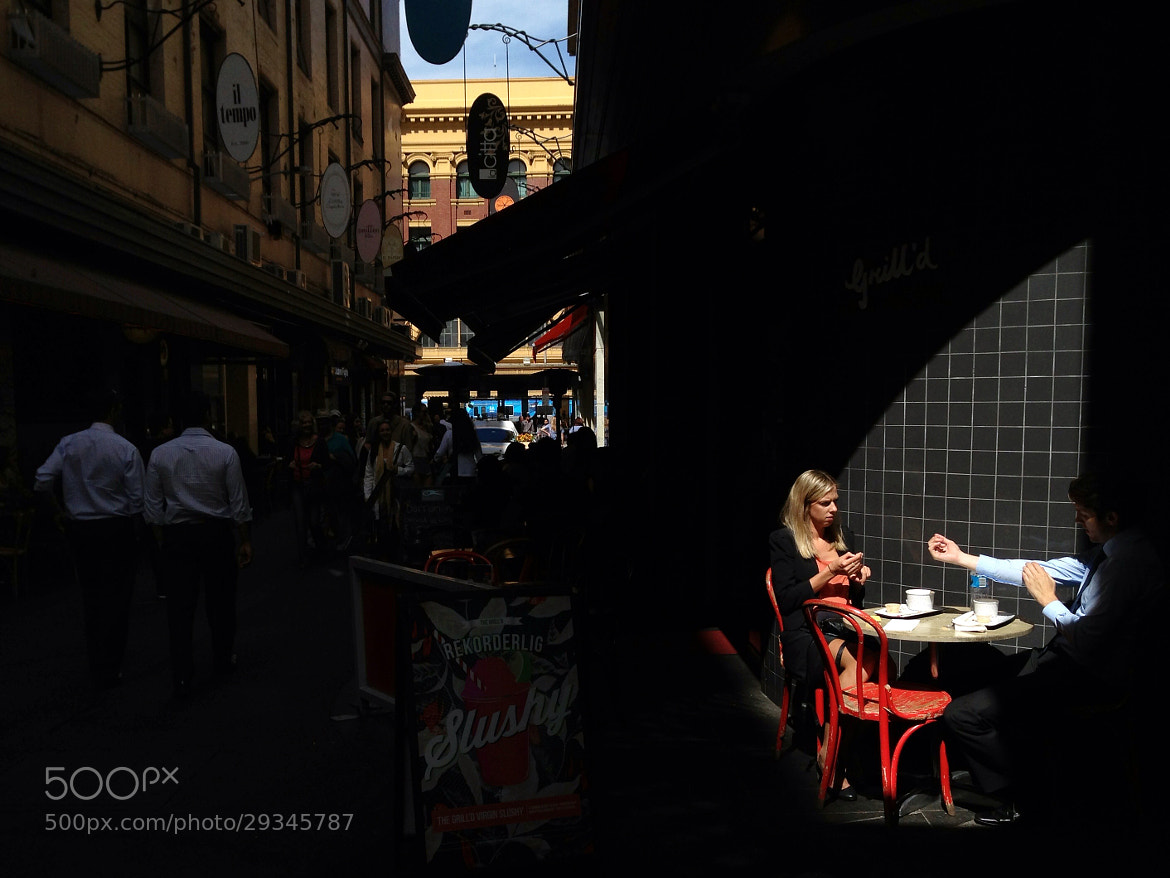 Photograph Degraves Street by Greg Briggs on 500px