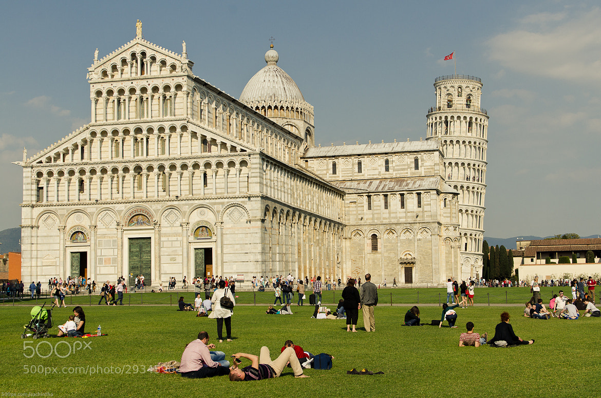 Photograph Piazza dei Miracoli by Sachintha Abeyarathne on 500px