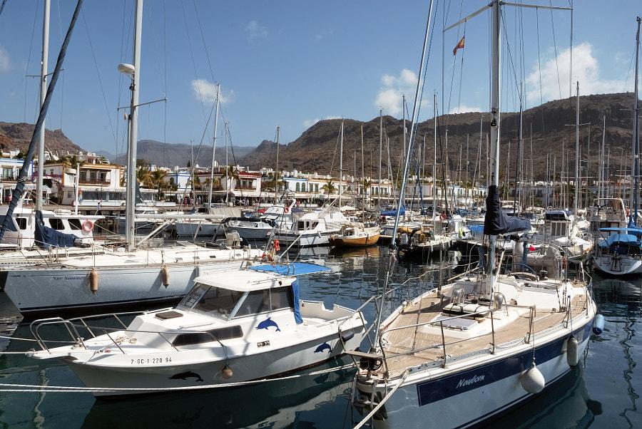 Embarcadoiro Deportivo do Porto de Mogan ( LP de  G Canaria) by Marco Aº Garcia on 500px.com