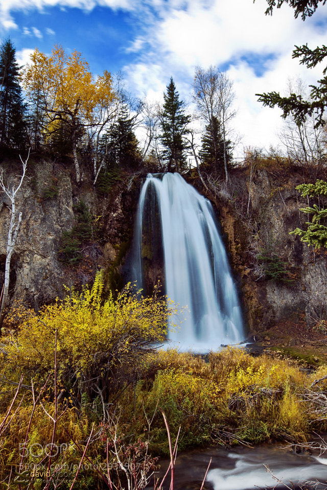 Photograph Spearfish Canyon Waterfall #1 by Dave  Jr on 500px