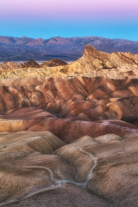 Photograph A Zabriskie Morning by Saravana  R on 500px