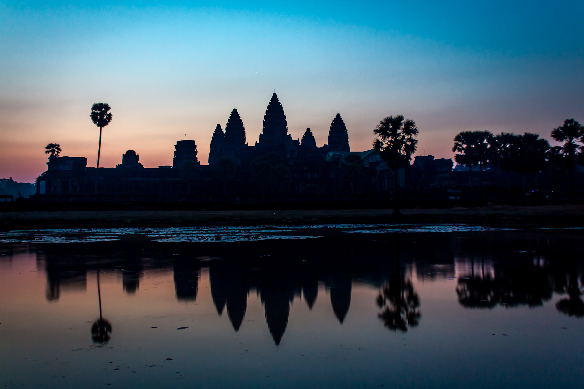 Photograph Angkor Wat before Sunrise by Richard Nurse on 500px
