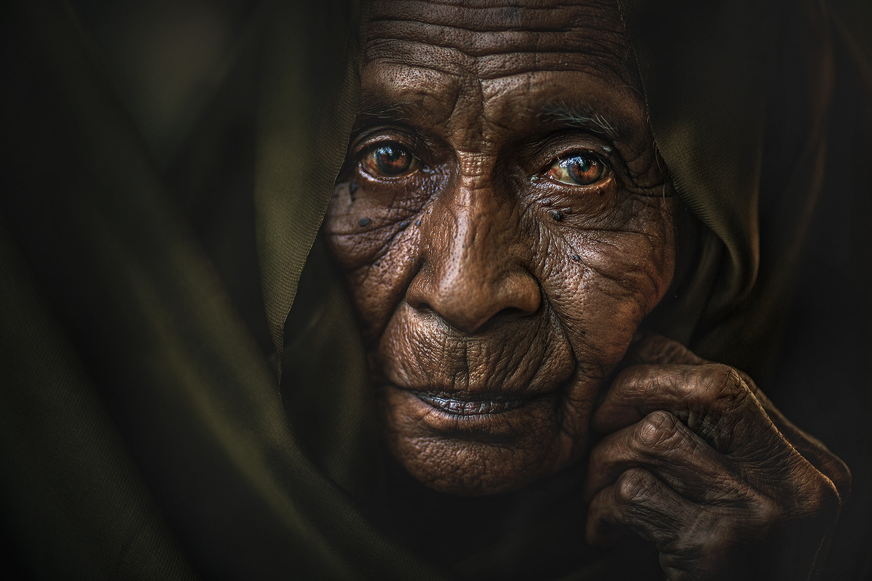 Photograph MAMA ESAH by abe less on 500px