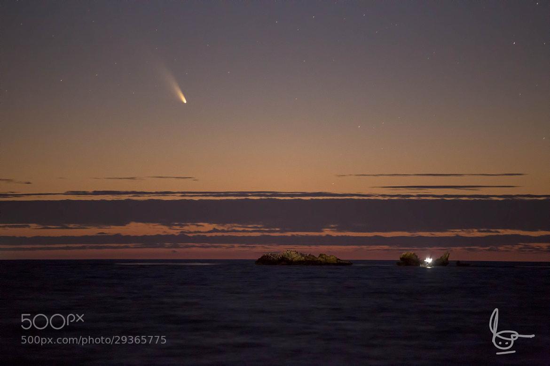Photograph Comet Panstarrs by Michael  Goh on 500px
