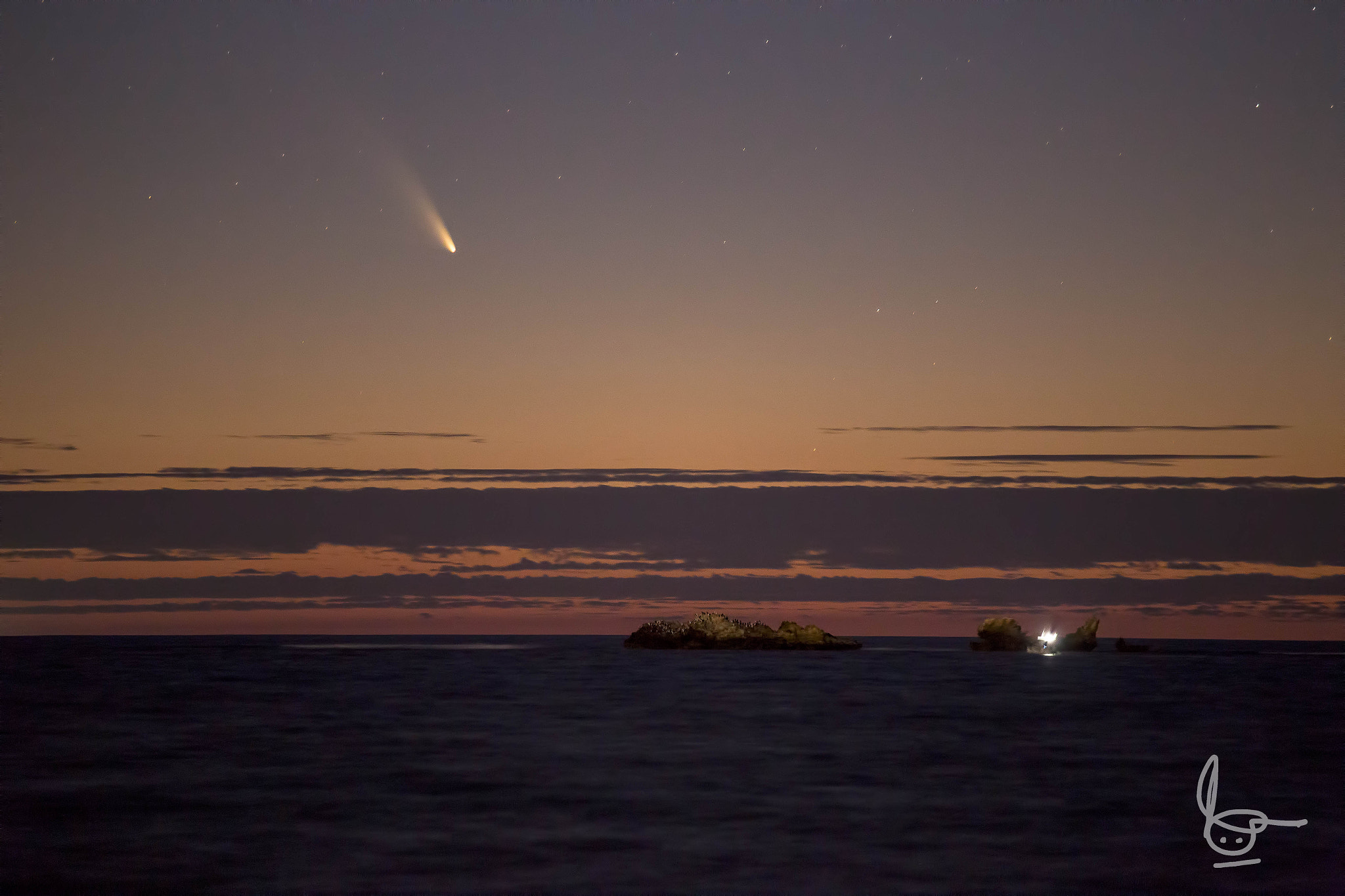 Photograph Comet Panstarrs by Michael  Goh on 500px