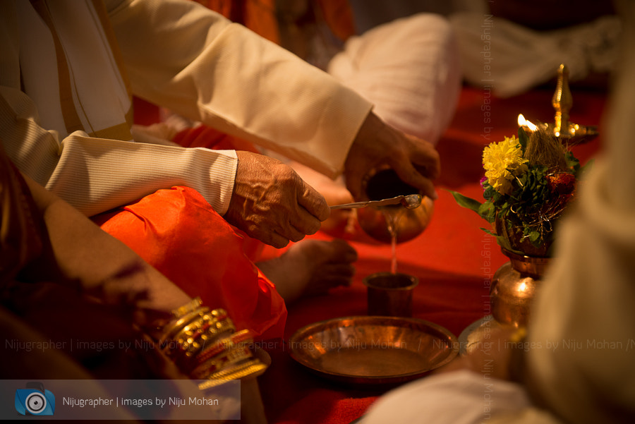 Photograph Hindu wedding in Goa - Bride's father by Niju Mohan on 500px