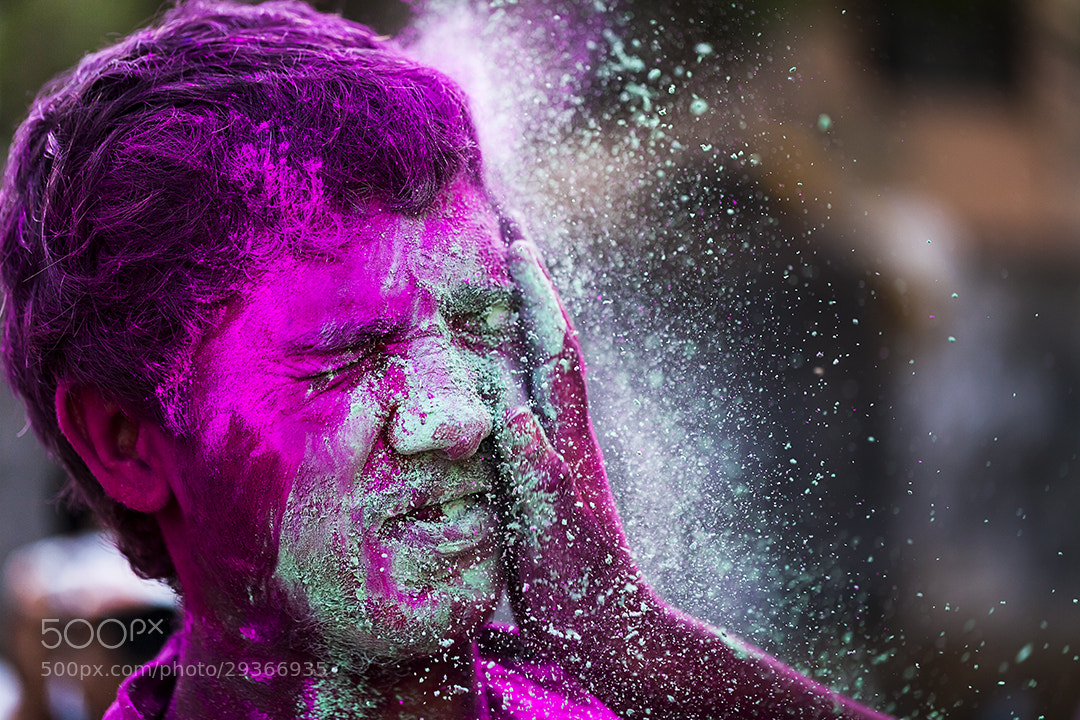 Photograph Happy Holi 2013 by Mahesh Balasubramanian on 500px