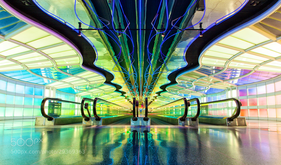 Photograph tunnel of light by Crazy Ivory on 500px