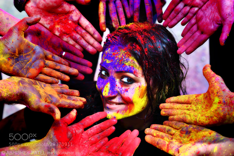 Photograph Festival of Colors | Happy Holi by Abhishek Patel on 500px