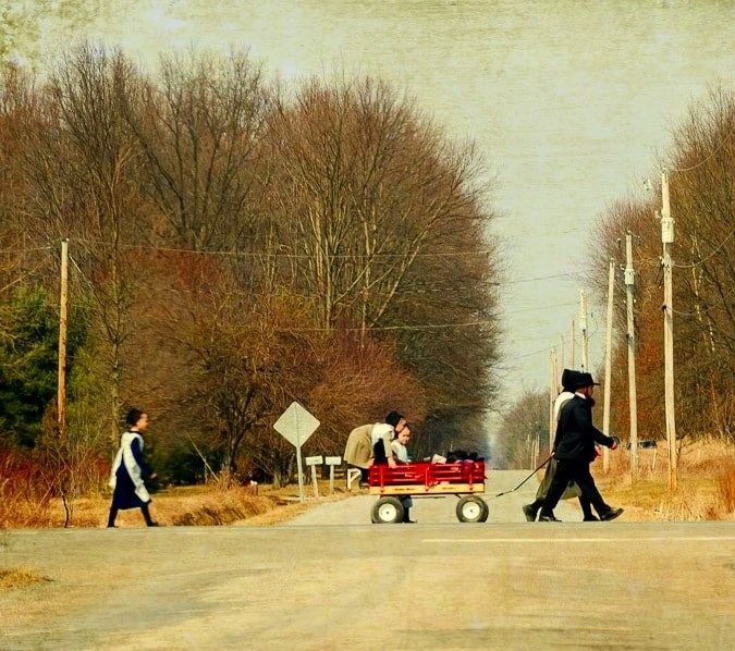Photograph amish family by Debbie Patrizi on 500px