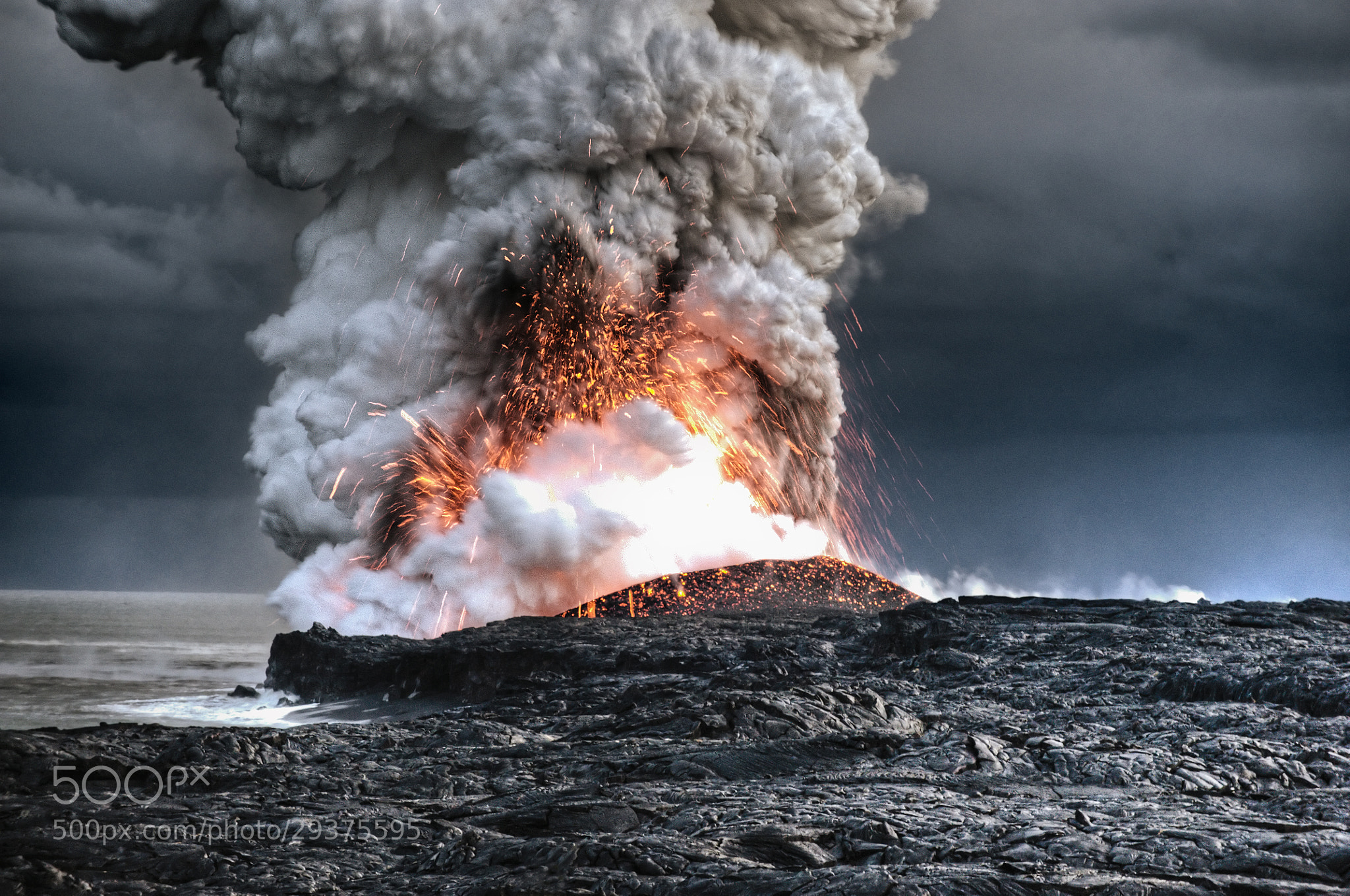 Photograph Volcano in Hawaii by Alain Barbezat on 500px