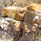 A formation of rocks that have stood the test of time.