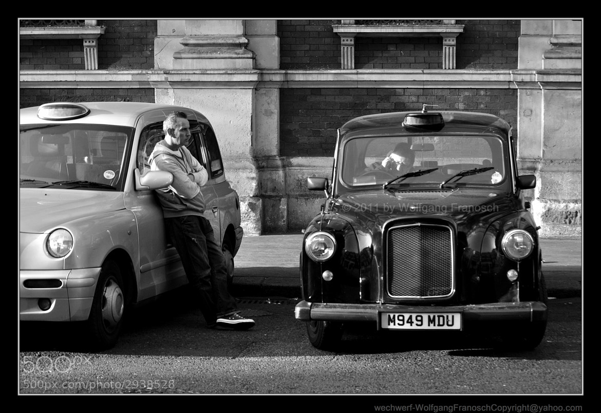 Photograph Cabbies on a Break by Wolfgang Zimmerman on 500px