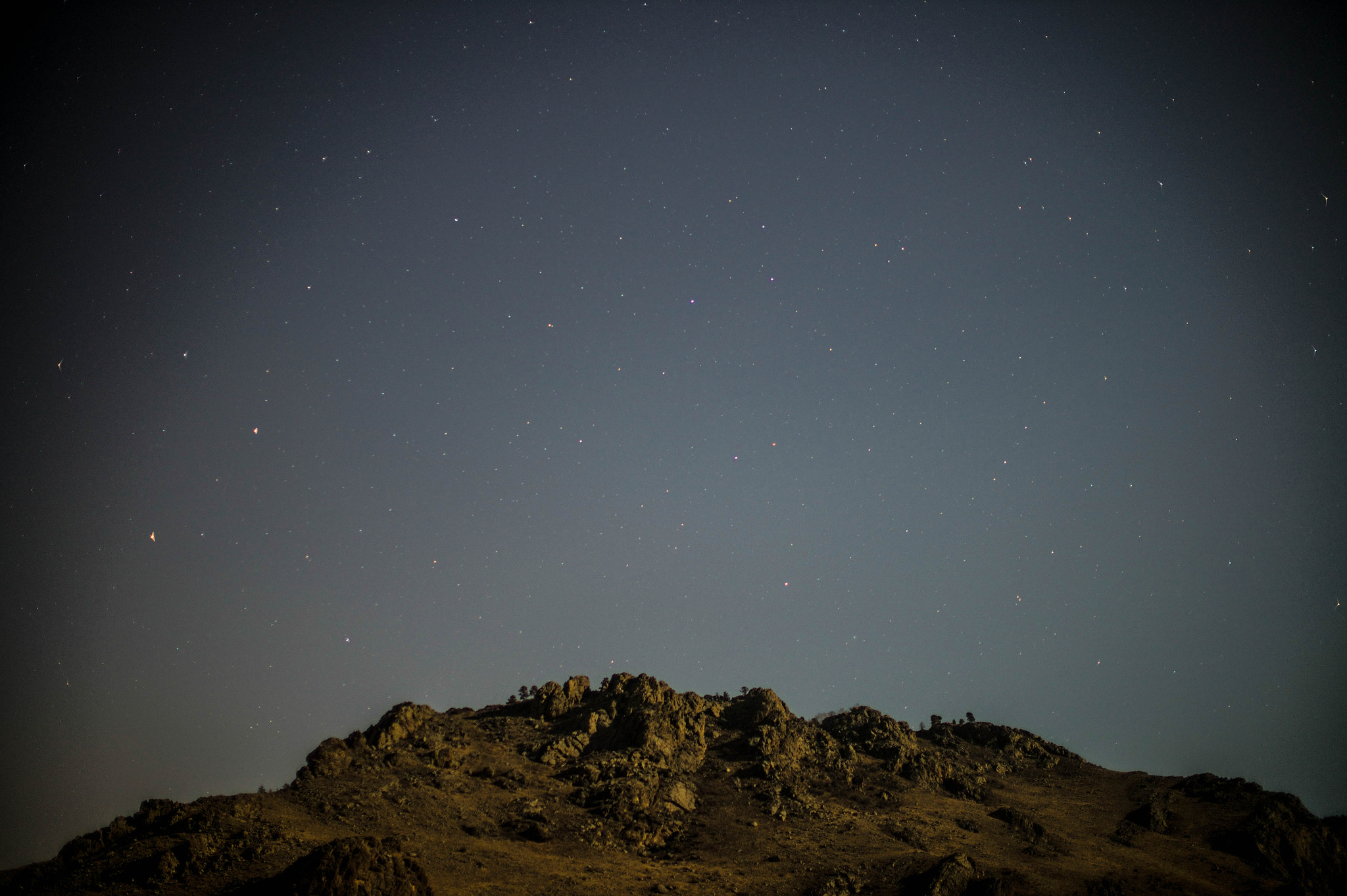 Photograph Starry Mountain  by Tem Erdenebat on 500px