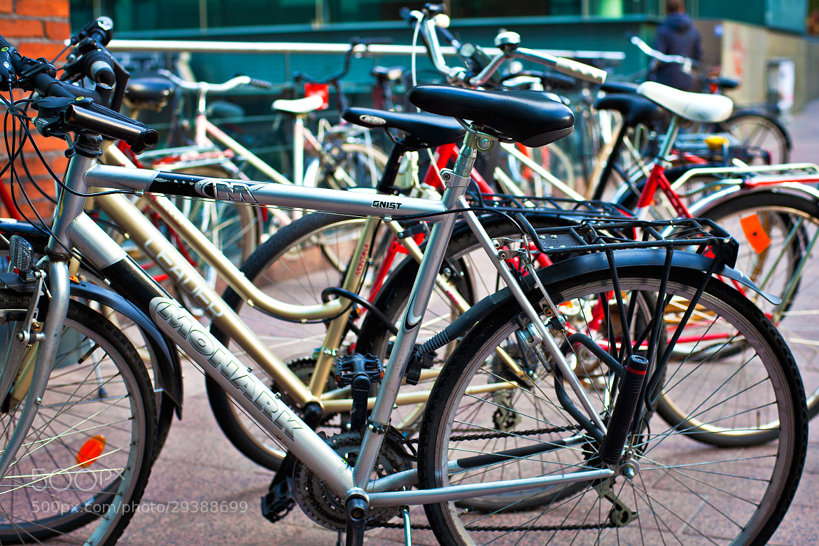 Photograph bicycles parking by Andrey Sherstiuk on 500px