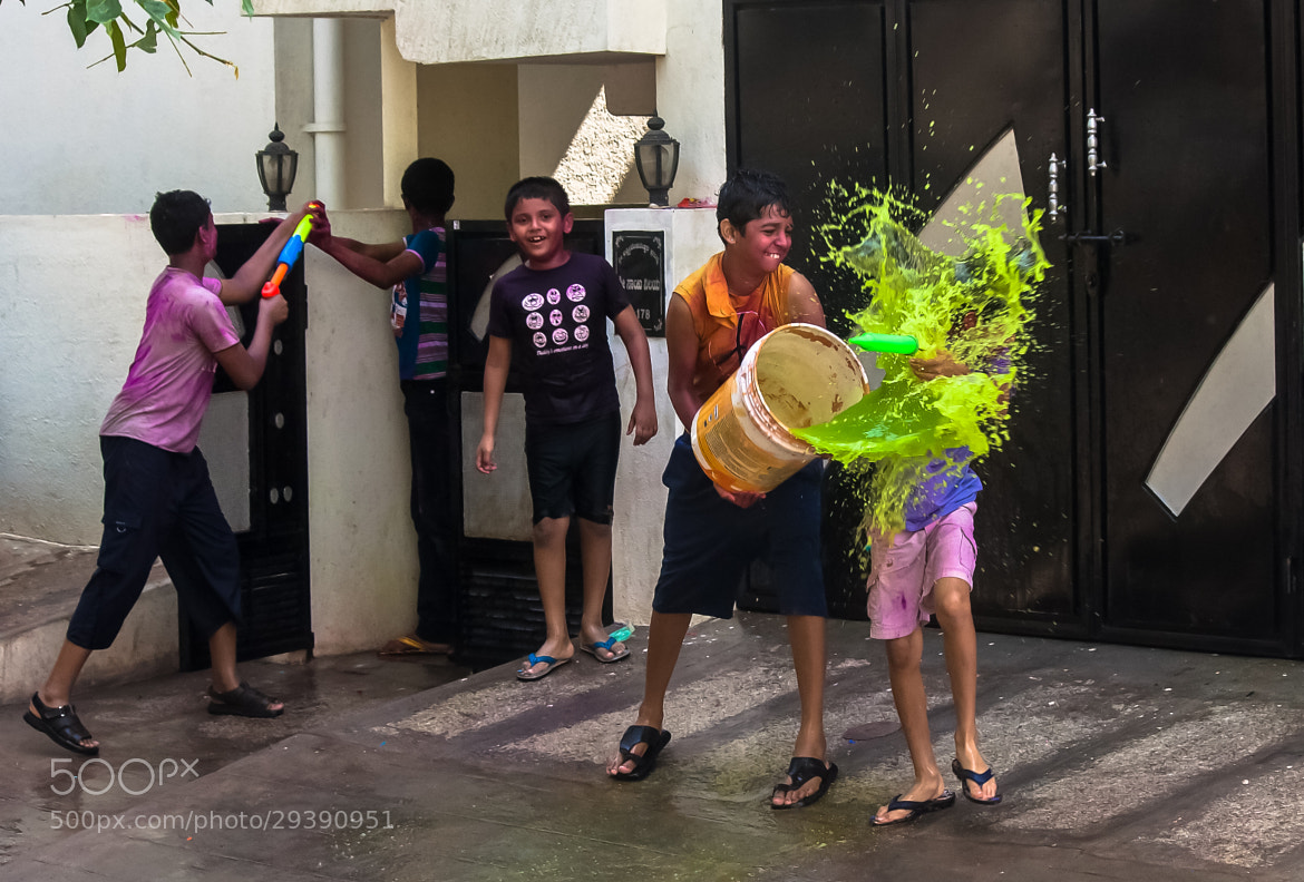 Photograph Holi Moods by Pradeep BR on 500px