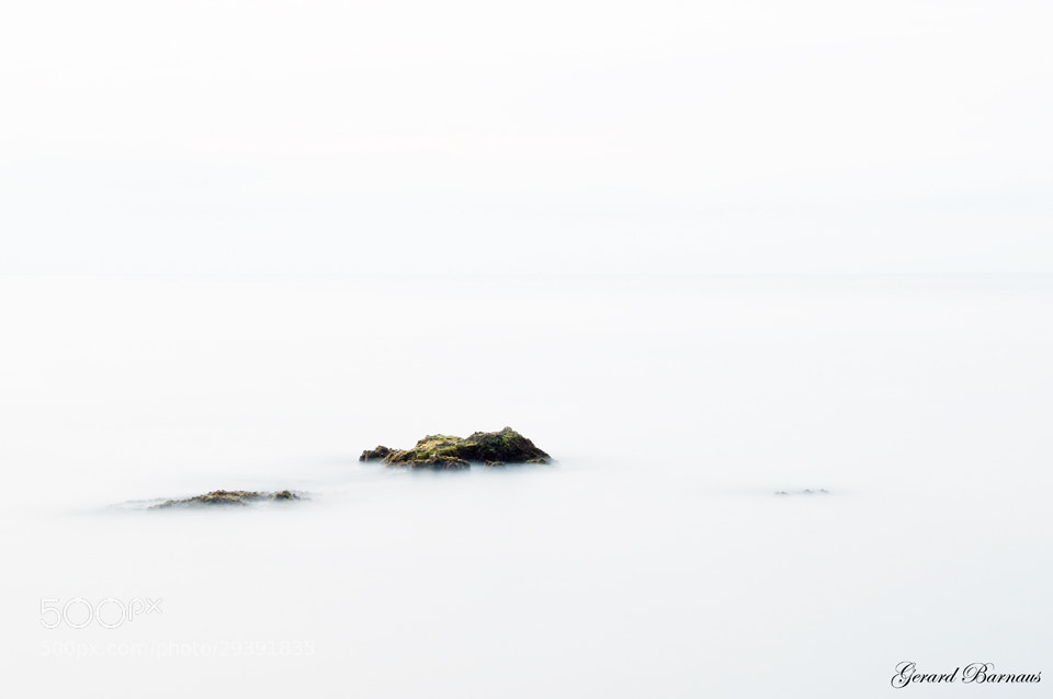 Photograph Tranquility in the sea by Gerard Barnaus Photography on 500px