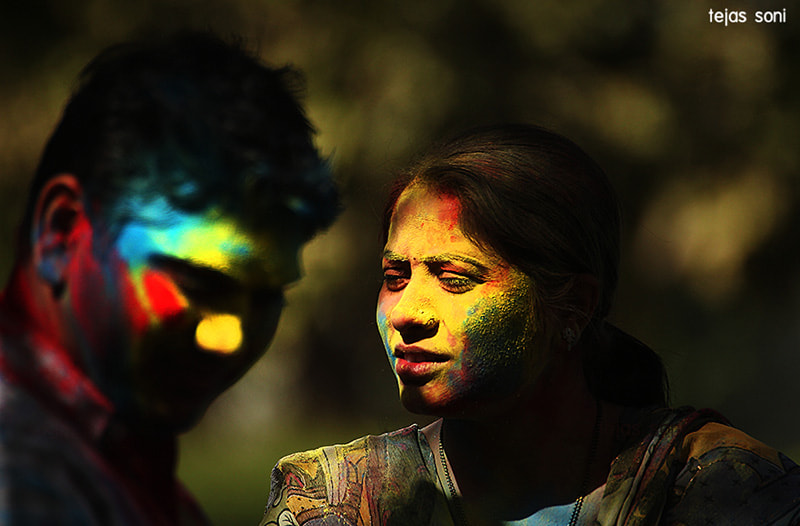 Photograph happy holi by Tejas Soni on 500px