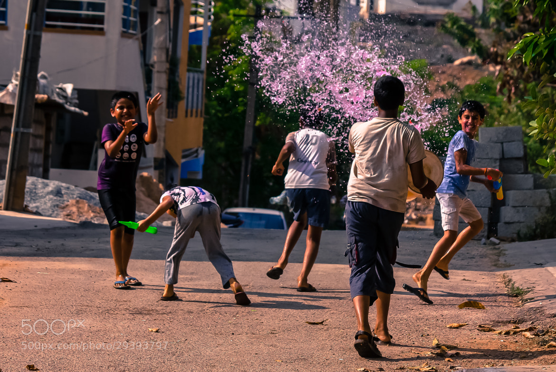 Photograph Colorful Holi by Pradeep BR on 500px