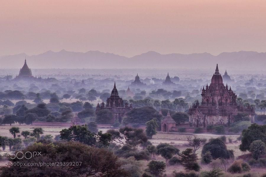 Photograph Bagan sunrise by Danish Photos on 500px