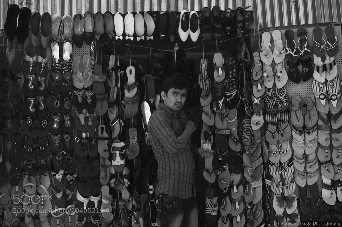 Photograph chappals by Karamvir Banga on 500px