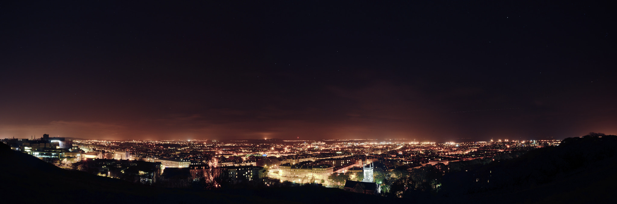Photograph North Edinburgh, from Calton Hill by Shane Rounce on 500px