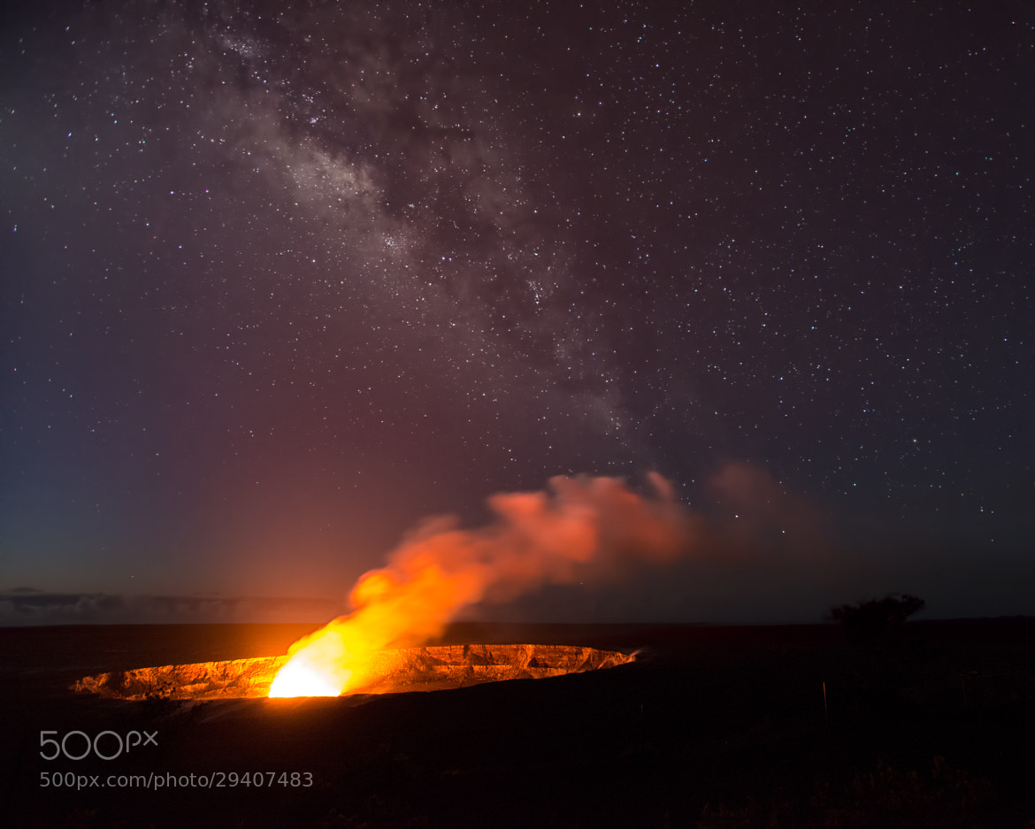 Photograph First Light Over Kilauea Caldera by Howard Ignatius on 500px