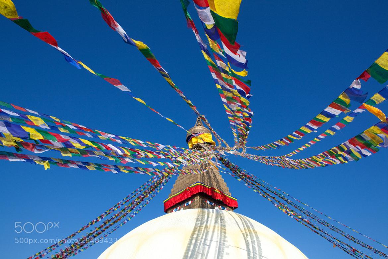 Photograph Boudnath Stupa, Kathmandu, Nepal by Guy Brown on 500px